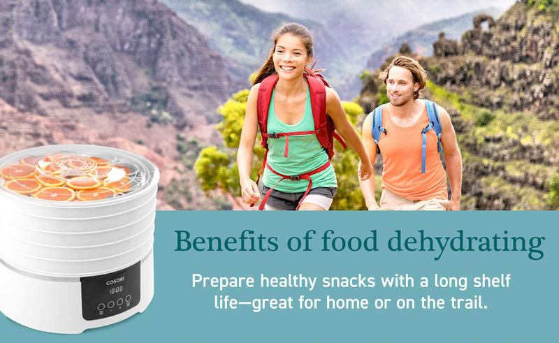 Benefits of food dehydrating