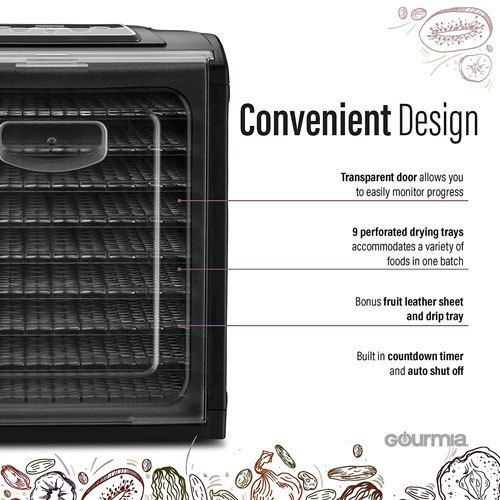 Dehydrator Convenient Design